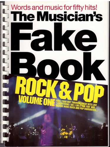 The Musician's Fake Book Rock & Pop 1