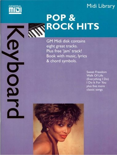 "MIDI Keyboard Library: ""Pop & Rock Hits"""