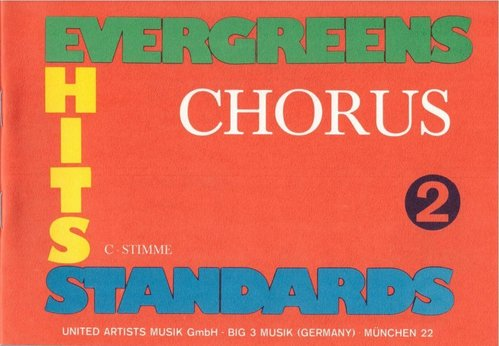 Evergreens-Hits-Standards, Band 2 (C-Stimme)